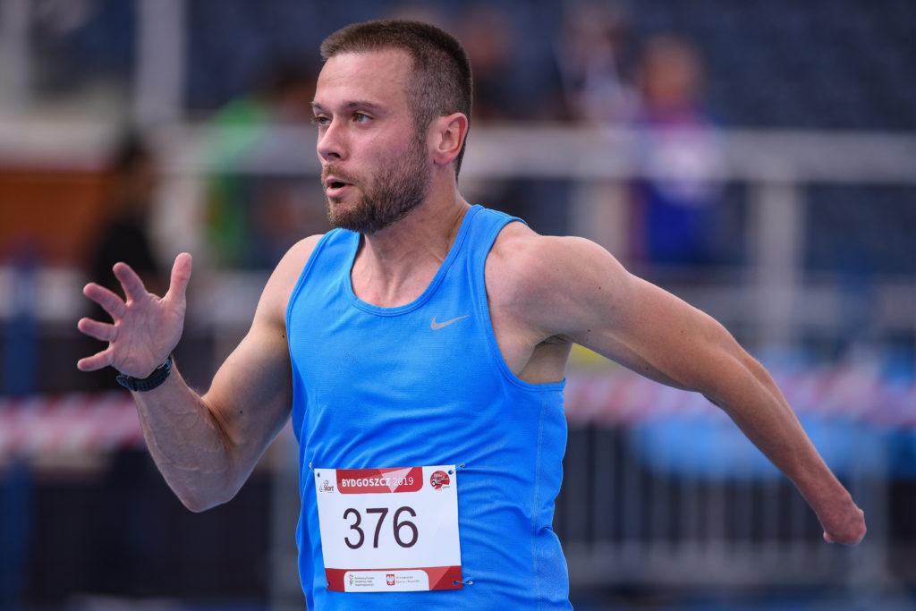 Michał Derus, Fot. Bartłomiej Syta / Polski Komitet Paraolimpijski
