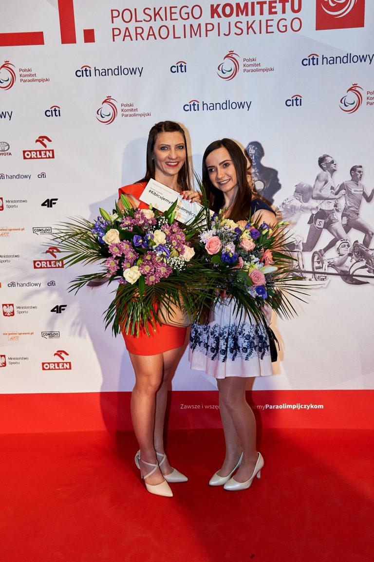 Justyna Kiryła i Aleksandra Tecław