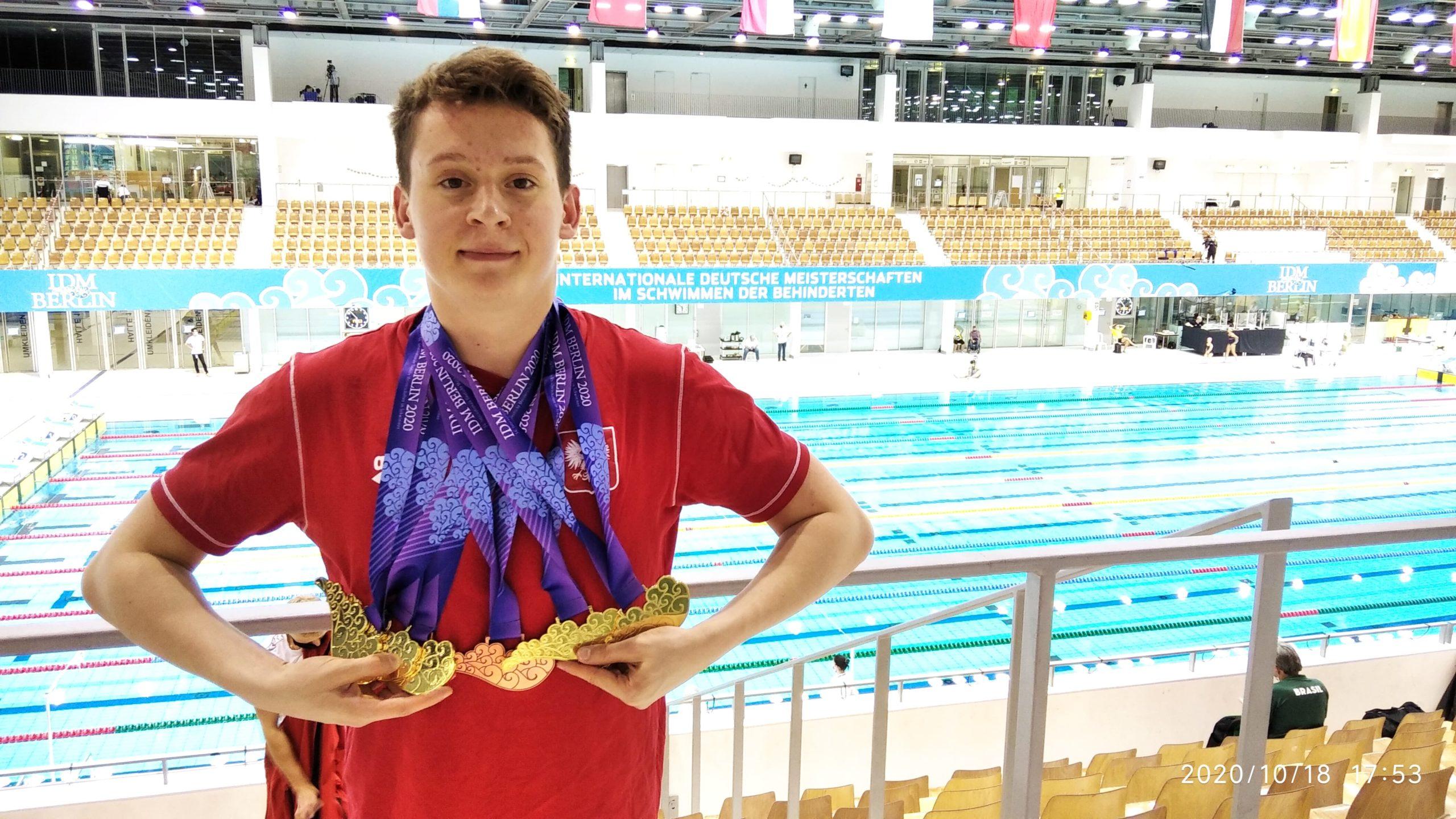 23 medale pływaków w Berlinie!